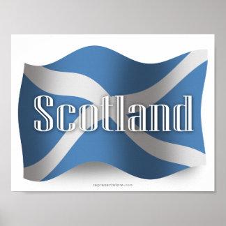 スコットランドの振る旗 ポスター