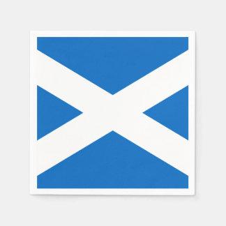スコットランドの旗の自由 スタンダードカクテルナプキン