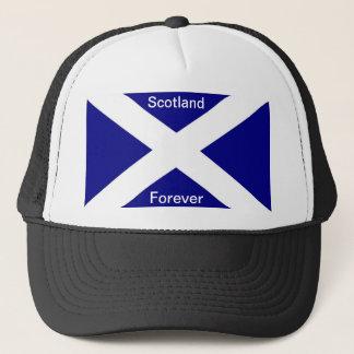スコットランドの旗の衣類 キャップ