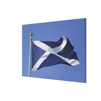 スコットランドの旗 キャンバスプリント