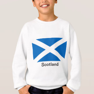 スコットランドの旗 スウェットシャツ