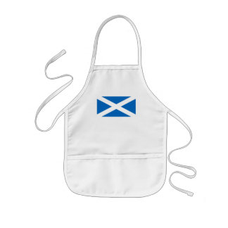 スコットランドの旗-スコットランドの旗の記念品 子供用エプロン