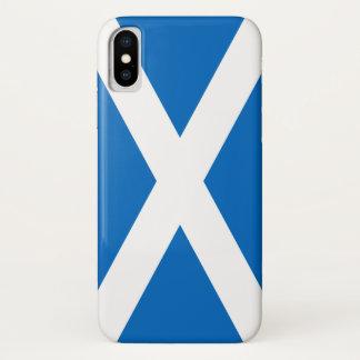 スコットランドの旗-スコットランドの旗の記念品 iPhone X ケース