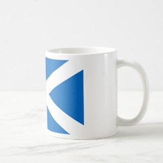 スコットランドの旗-スコットランドの旗 コーヒーマグカップ