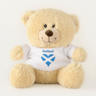 スコットランドの旗 テディベア