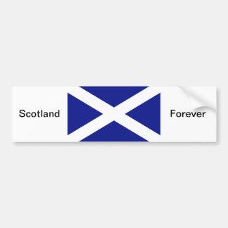 スコットランドの旗 バンパーステッカー