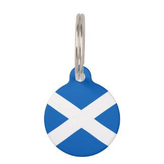 スコットランドの旗 ペット ネームタグ