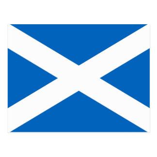 スコットランドの旗 ポストカード