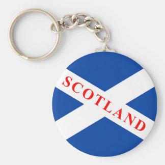 スコットランドの旗- Saltire -キーホルダー キーホルダー