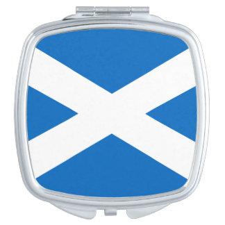 スコットランドの正方形の密集した鏡の旗