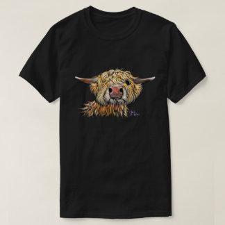 スコットランドの毛深い高地牛「POPEYE」Tシャツ Tシャツ