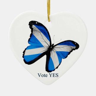 スコットランドの独立のための投票Yes セラミックオーナメント