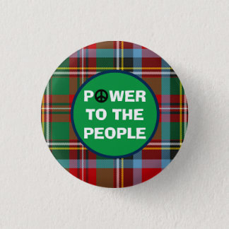 スコットランドの独立人々力 3.2CM 丸型バッジ