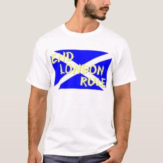 スコットランドの独立端のロンドンの規則のTシャツ Tシャツ