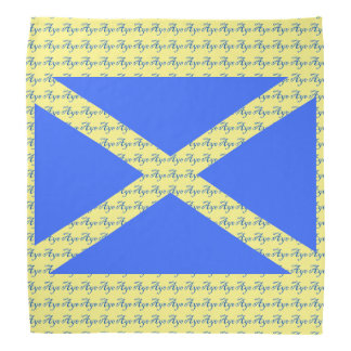 スコットランドの独立賛成旗のバンダナ バンダナ