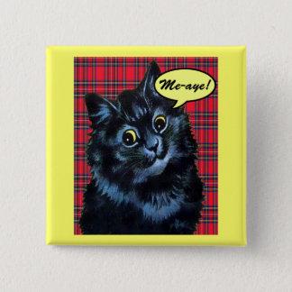 スコットランドの独立#Indy猫ボタン 5.1cm 正方形バッジ