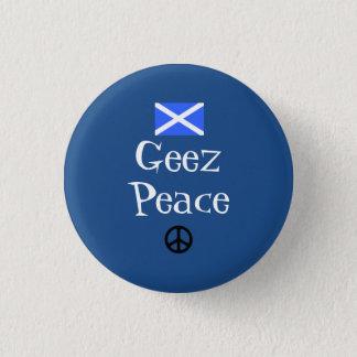 スコットランドの独立Geez平和バッジ 3.2cm 丸型バッジ