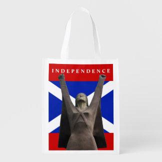 スコットランドの独立LaのPasionariaの食料雑貨のトート エコバッグ