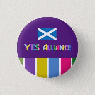 スコットランドの独立Yesの同盟のバッジ 3.2cm 丸型バッジ
