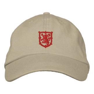 スコットランドの王室のな標準によって刺繍される帽子 刺繍入りハット