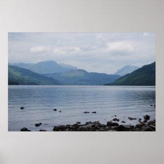 スコットランドの眺め ポスター