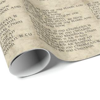 スコットランドの結婚式誓約の包装紙 ラッピングペーパー