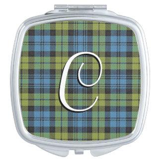 スコットランドの美しいのキャンベル家族のタータンチェック格子縞