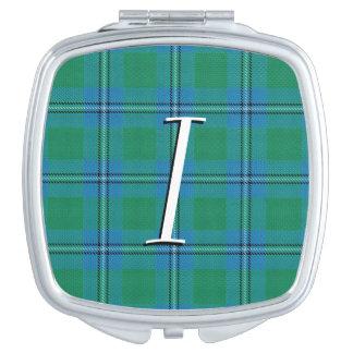 スコットランドの美しいの一族のアーヴァインIrwinのタータンチェック格子縞
