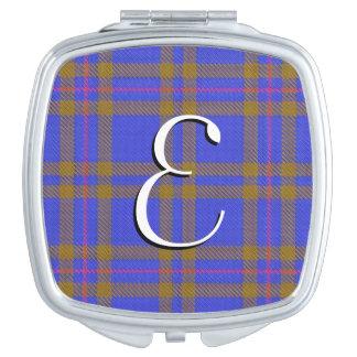 スコットランドの美しいの一族のエリオットのタータンチェック格子縞