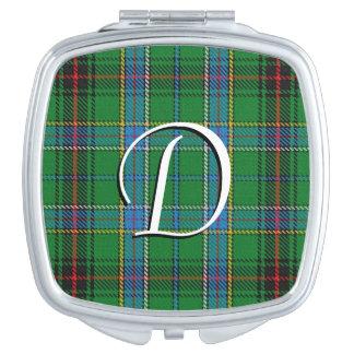 スコットランドの美しいの一族のダンカンのタータンチェック格子縞