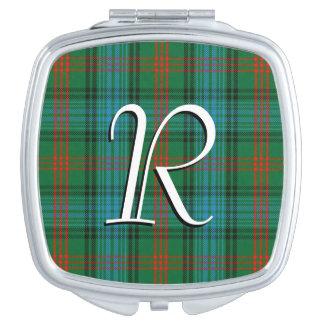 スコットランドの美しいの一族のロスのタータンチェック格子縞