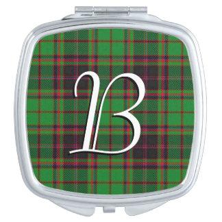 スコットランドの美しいの一族のBuchanのタータンチェック格子縞