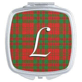 スコットランドの美しいの一族のLivingstoneのタータンチェック格子縞