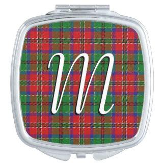 スコットランドの美しいの一族のMacCullochのタータンチェック格子縞