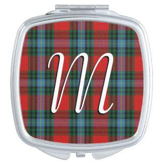スコットランドの美しいの一族のMacLeaのタータンチェック格子縞