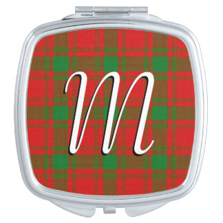 スコットランドの美しいの一族のMacQuarrieのタータンチェック格子縞
