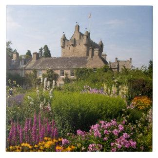 スコットランドの美しい庭そして有名な城 タイル