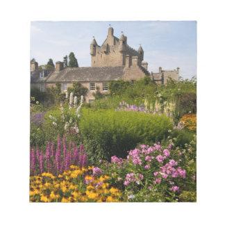 スコットランドの美しい庭そして有名な城 ノートパッド