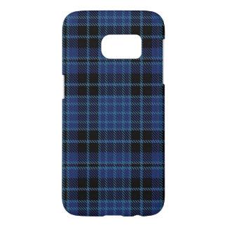 スコットランドの聖職者のタータンチェック格子縞の色 SAMSUNG GALAXY S7 ケース