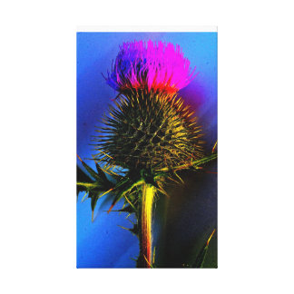 スコットランドの花 キャンバスプリント