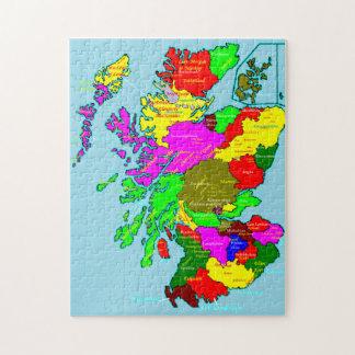 スコットランドの諸州および一族 ジグソーパズル