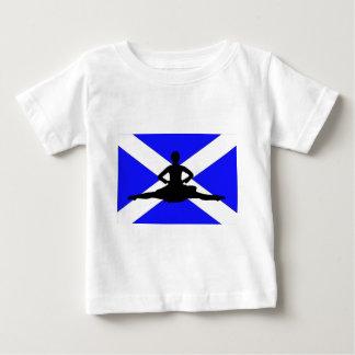 スコットランドの跳躍 ベビーTシャツ