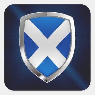 スコットランドの金属紋章 スクエアシール
