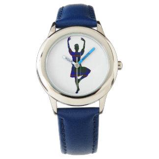 スコットランドの高地のダンサー 腕時計