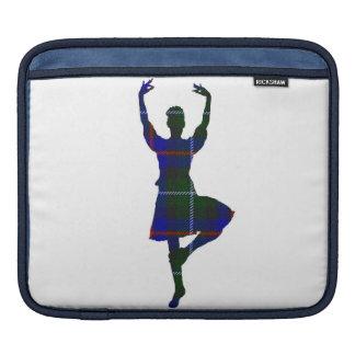 スコットランドの高地のダンサー iPadスリーブ