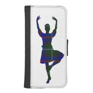 スコットランドの高地のダンサー iPhoneSE/5/5sウォレットケース