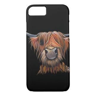 スコットランドの高地牛「ブルース」のIphone銀河系 iPhone 8/7ケース