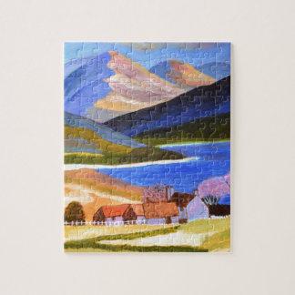 スコットランドの高地2 ジグソーパズル