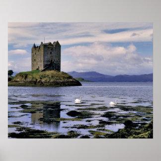 スコットランドの高地、Westerロスのストーカー ポスター