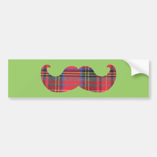 スコットランドの髭(またはscottacheの口ひげ) バンパーステッカー